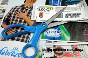 Clipping Coupons