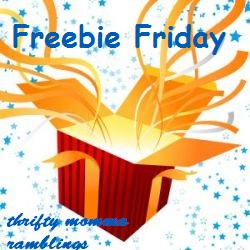 Thrifty Momma Ramblings Freebie Fridays Edition