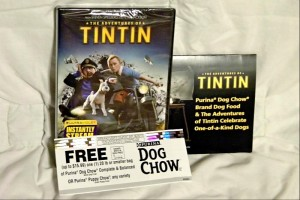 Klout Perk Tin Tin Movie
