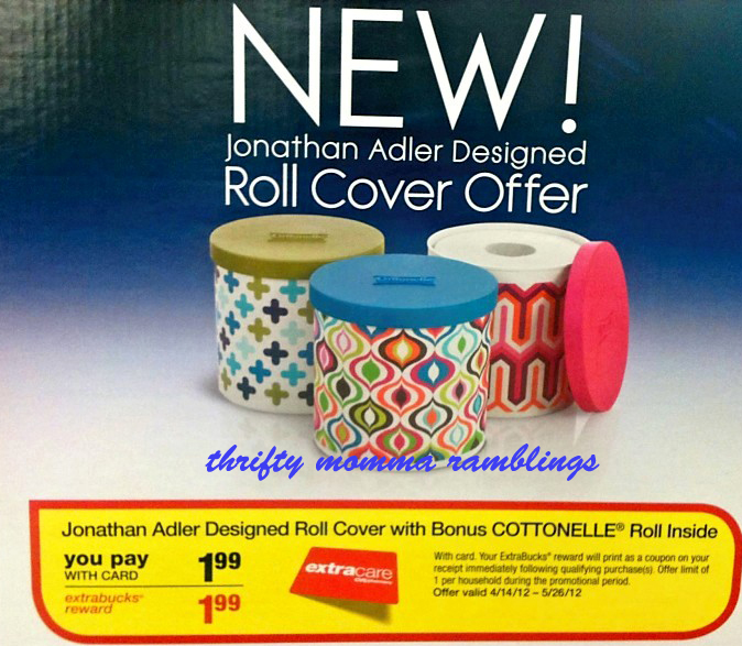 Cottonelle Roll Cover Holder