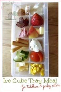 ice cube tray food for toddlers