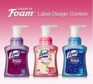 lysol-touch-foam-sweepstakes