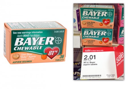 Bayer-Chewable-Aspirin-Target