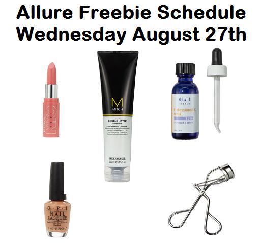 allure-freebie-schedule
