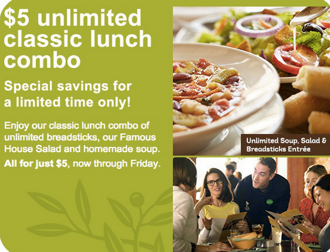 unlimited soup salad and breadsticks coupon