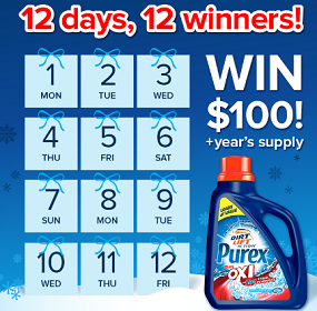 Purex-12-days-of-Giveaways-Sweepstakes