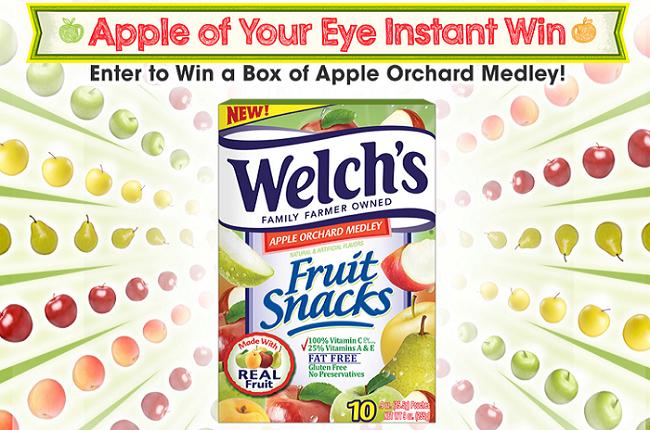 welchs-apple-instant-win-game