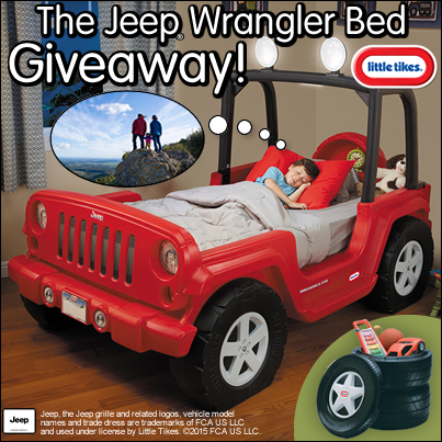 Little Tikes Jeep Wrangler Bed