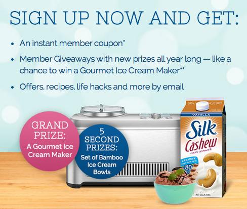 Silk Gourmet Ice Cream Maker