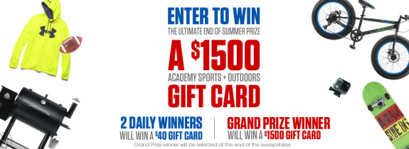 Academy Sports Gift Card!!!