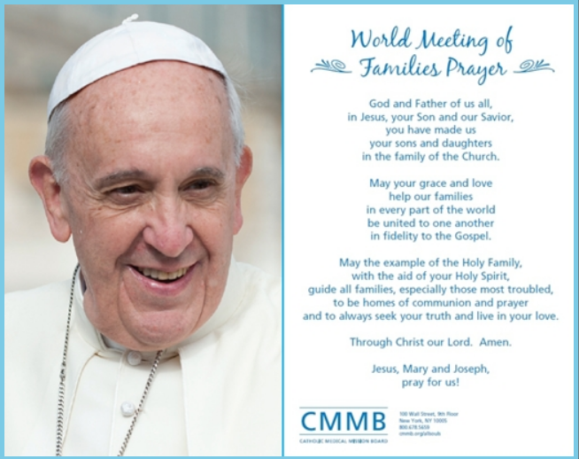 Free Pope Francis Prayer Card