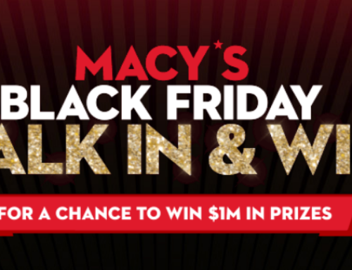 Macy's Black Friday $500 Gift Card Instant Win Game