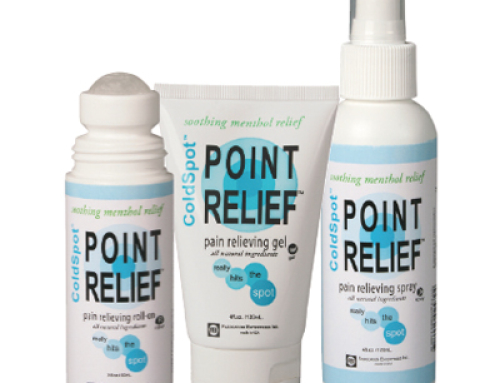 FREE Point Relief ColdSpot Pain Reliever Sample
