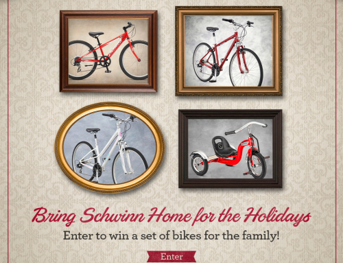 Enter to Win a Set of Schwinn Bicycles For the Whole Family
