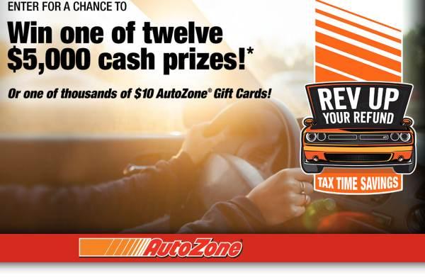 auto zone card win