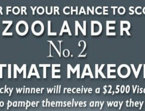 Win a $2,500 Visa Gift Card from Cinemark Zoolander Sweepstakes!