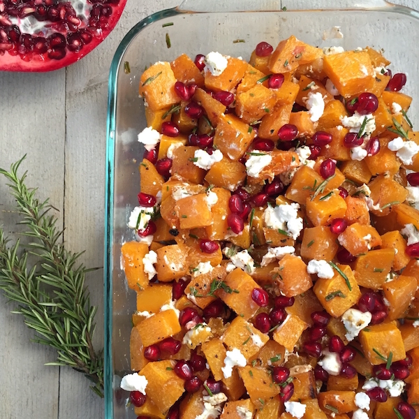 roasted-butternut-squash-with-goat-cheese-pomegranates-and-rosemary-1-copy