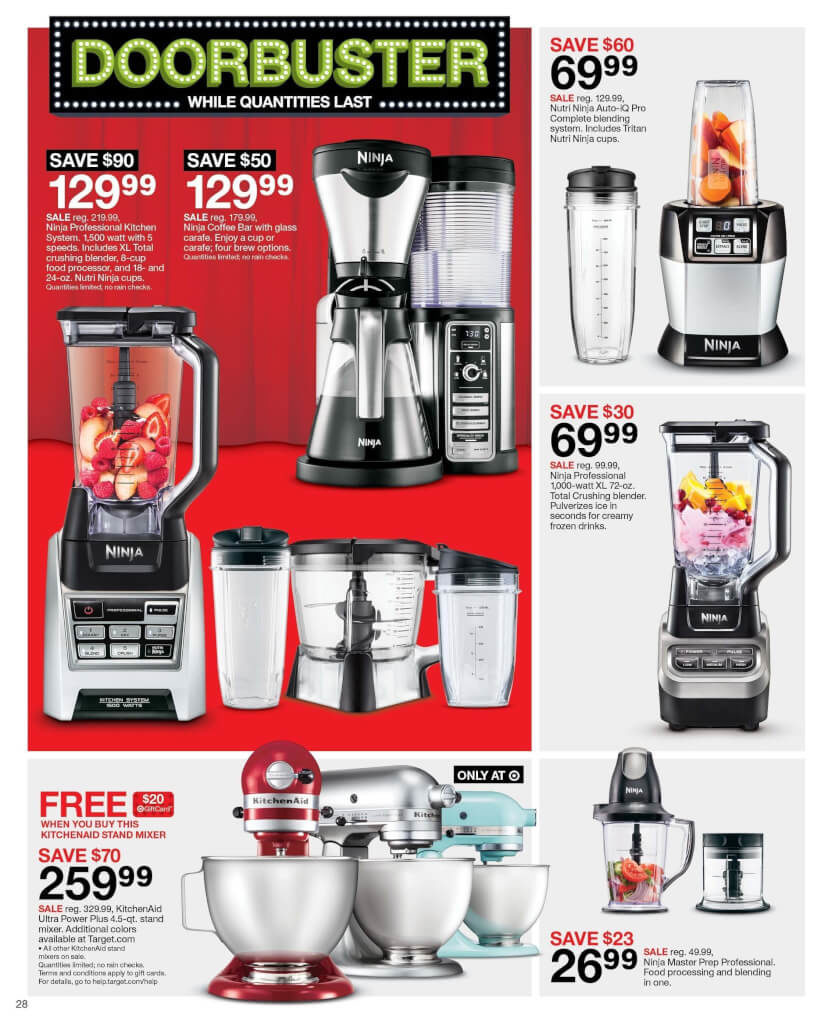 Target Small Kitchen Appliances Target Black Friday Ad For 2016 Thrifty Momma Ramblings