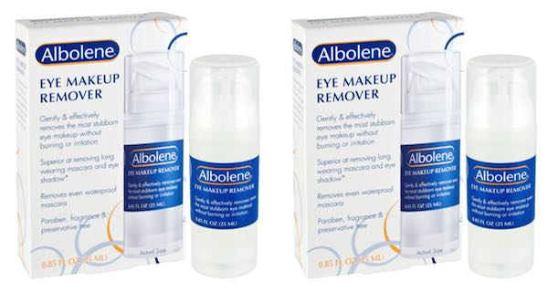 Free Sample of Albolene Eye Makeup Remover
