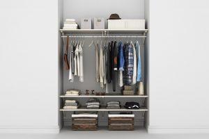 small wardrobe