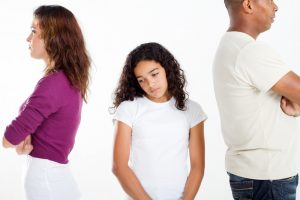 child coping with divorce