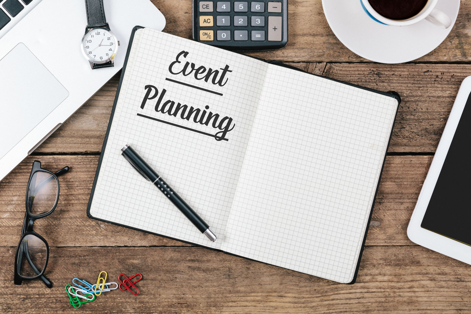 event planning notebook
