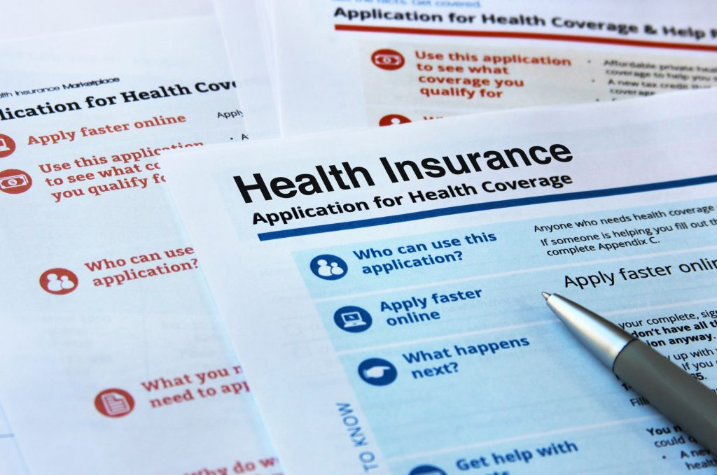 Health Insurance Form for a Self-Employed