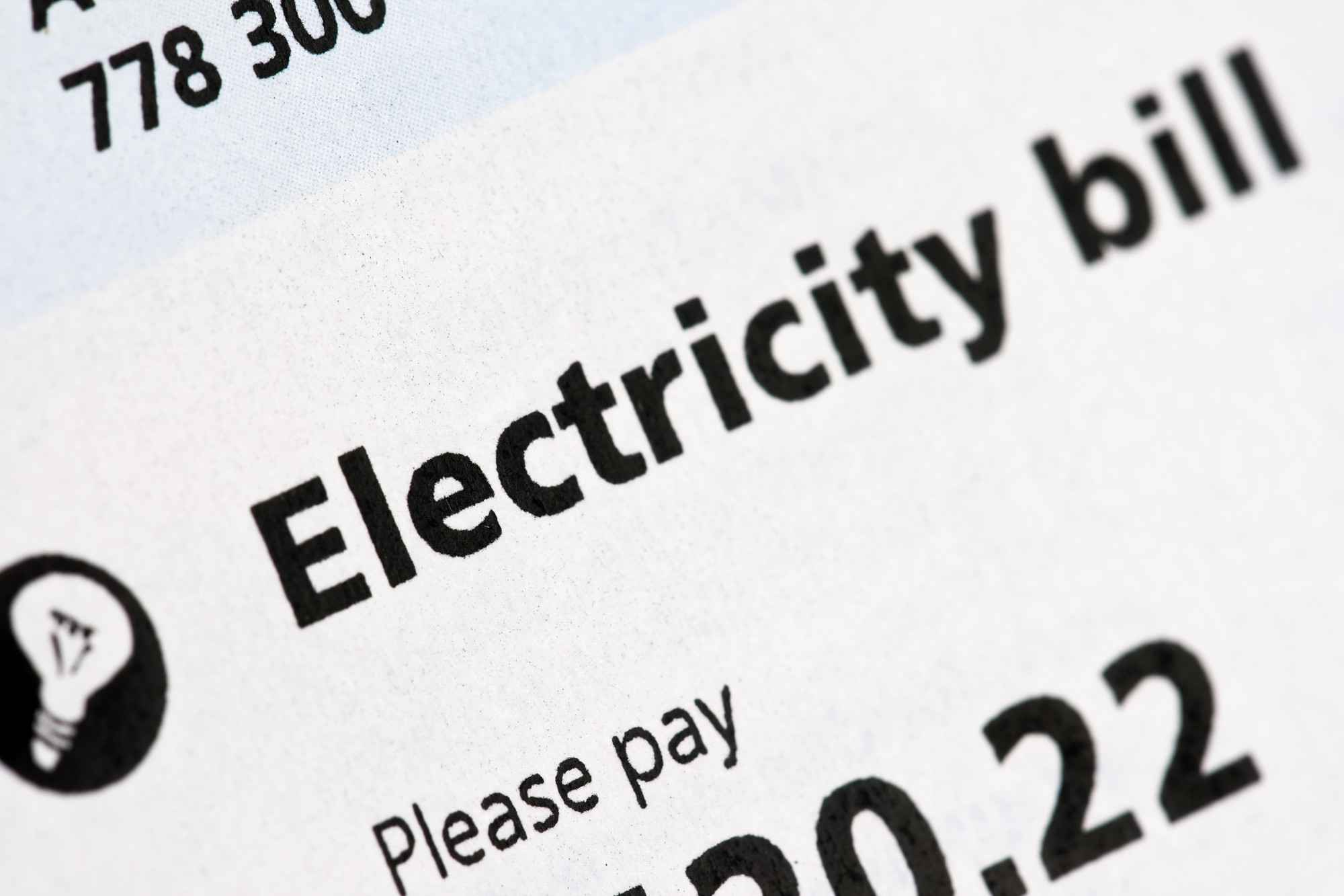 Electric Bill Sample