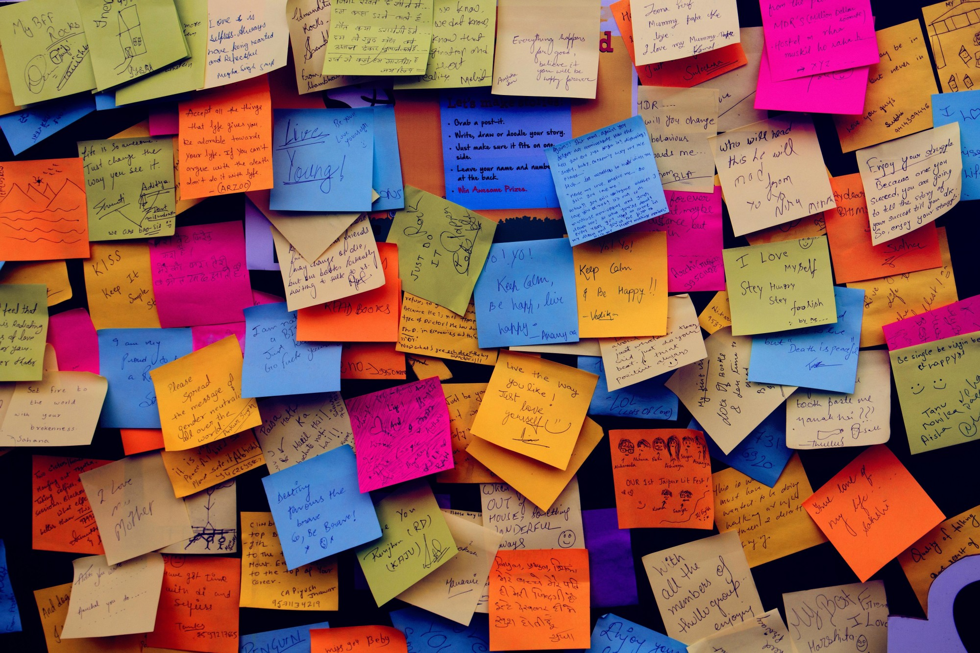 Work Sticky Notes