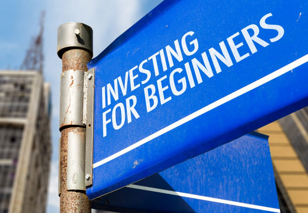 Investing for Beginners Sign